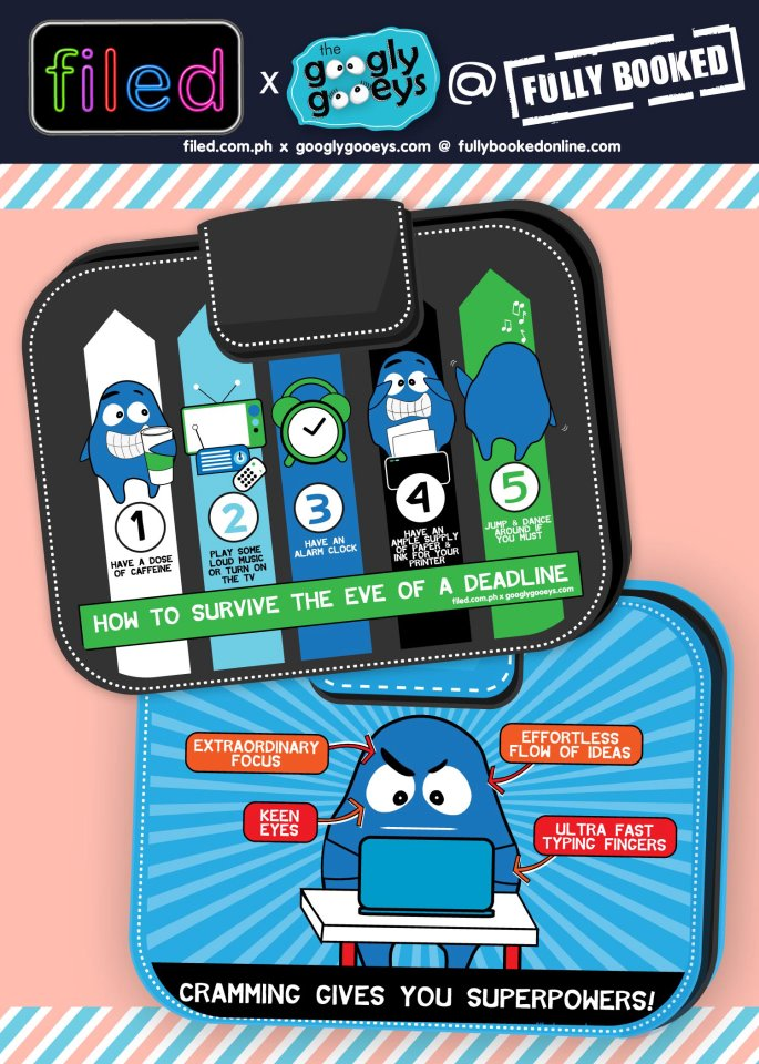 Get organized! :) Get your FILED! x googly gooeys folders today at the following Analog Soul Trinoma