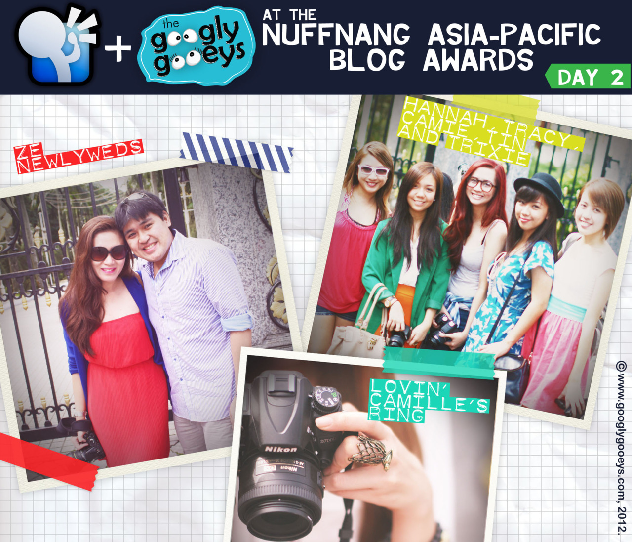 Nuffnang Asia-Pacific Blog Awards in Malaysia: Day 2! :)