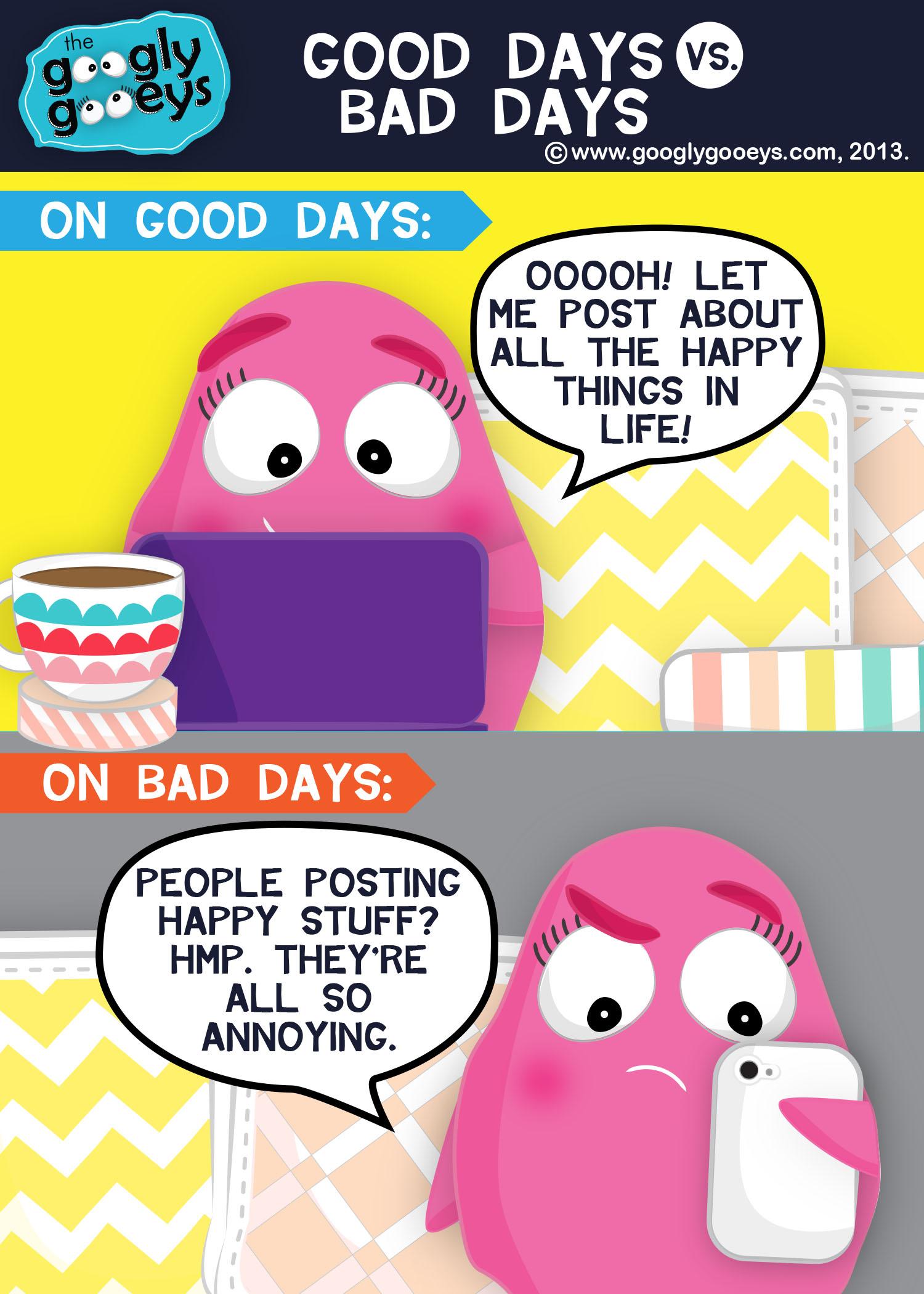 Good Days Versus Bad Days & Spot.PH's Summer Komikon Feature