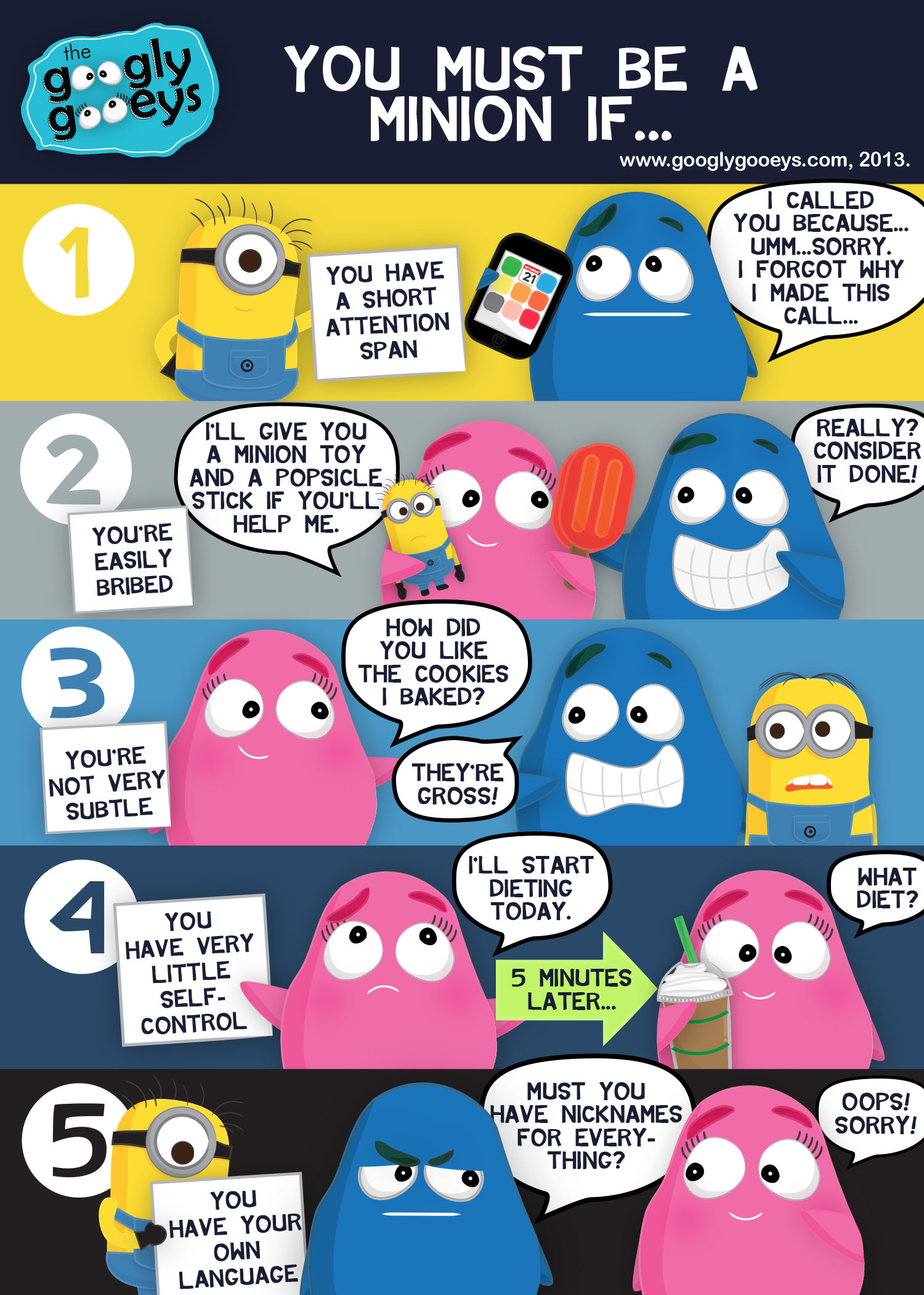The Minion Quiz: You Must Be a Minion If…