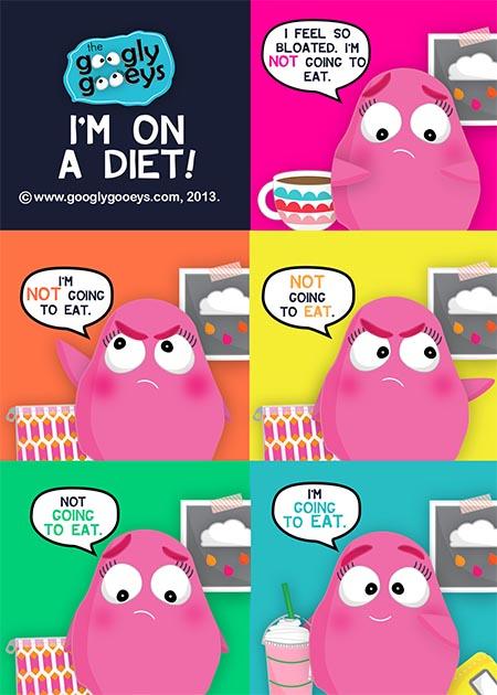 I'm on a Diet! + Flight 001 has landed!