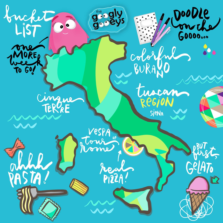 My Italian Bucket List