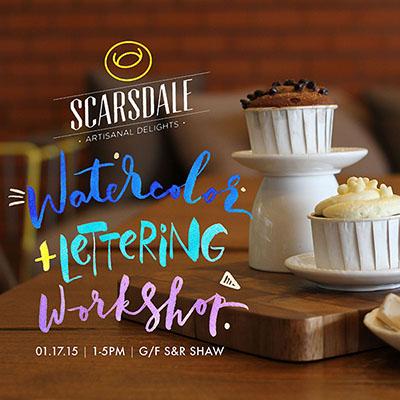 Scarsdale Artistanal Delights Workshop