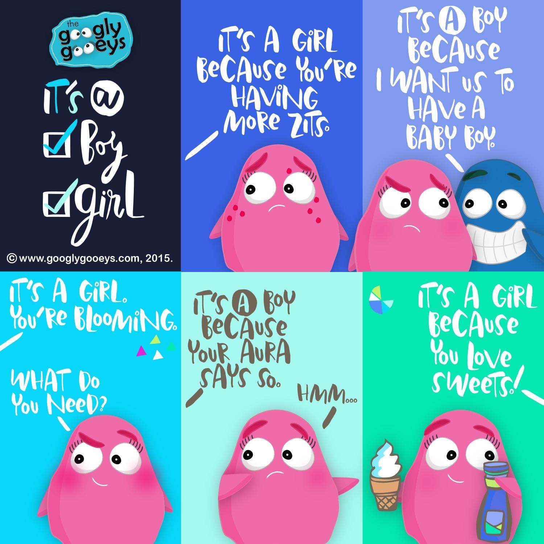 It's a Boy!  It's a Girl! + A Blog Giveaway