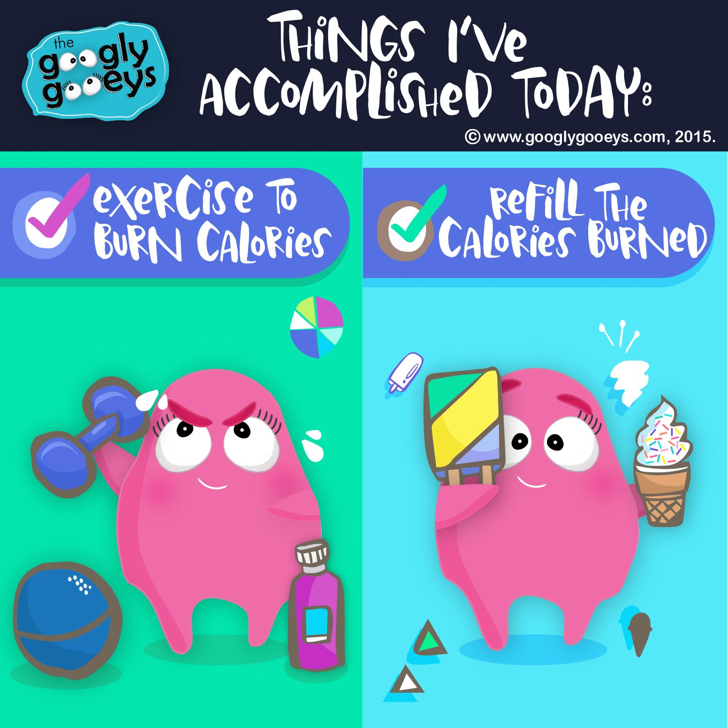Of Exercise & Refilling the Calories Burned