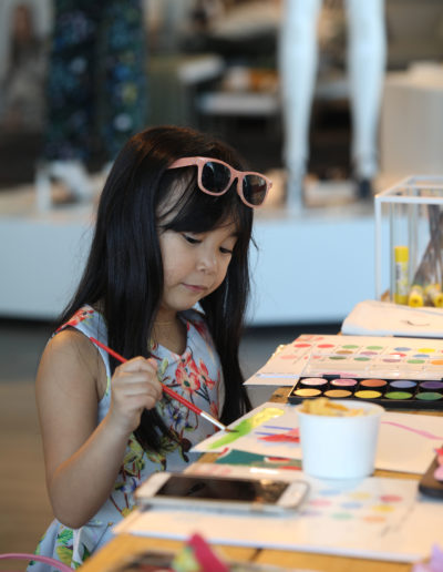 Watercolor and Arts Workshop with HM Kids 18