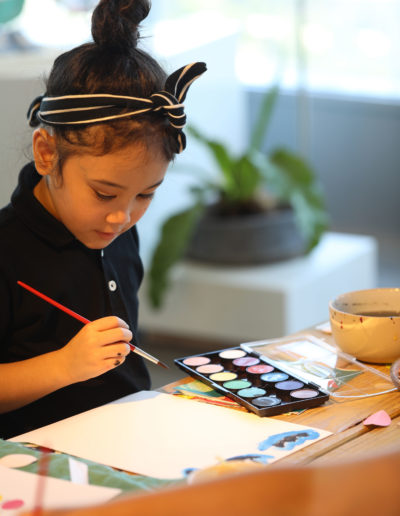 Watercolor and Arts Workshop with HM Kids 20