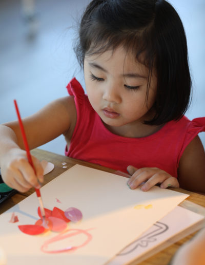 Watercolor and Arts Workshop with HM Kids 28