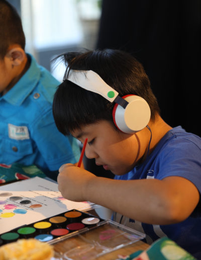 Watercolor and Arts Workshop with HM Kids 31