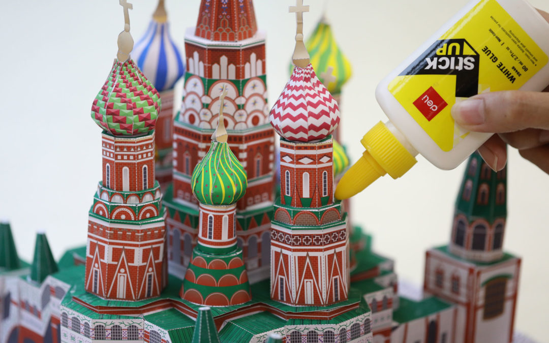 Free Printable: Craft Asian Landmarks and Icons with Paper and Glue