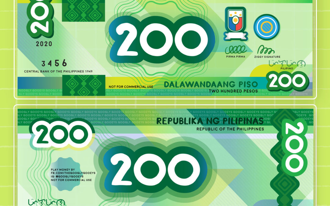 Free Printable: Philippine Play Money