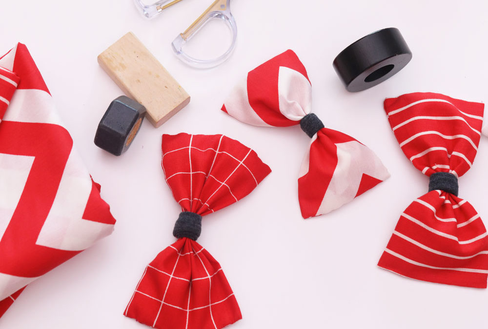 DIY Pet Collar, Bow Tie and Tug Toy