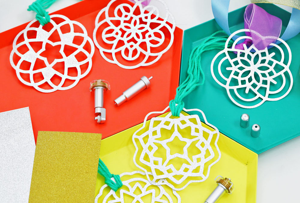 Cricut Project: Paskong Pinoy Parol Ornaments