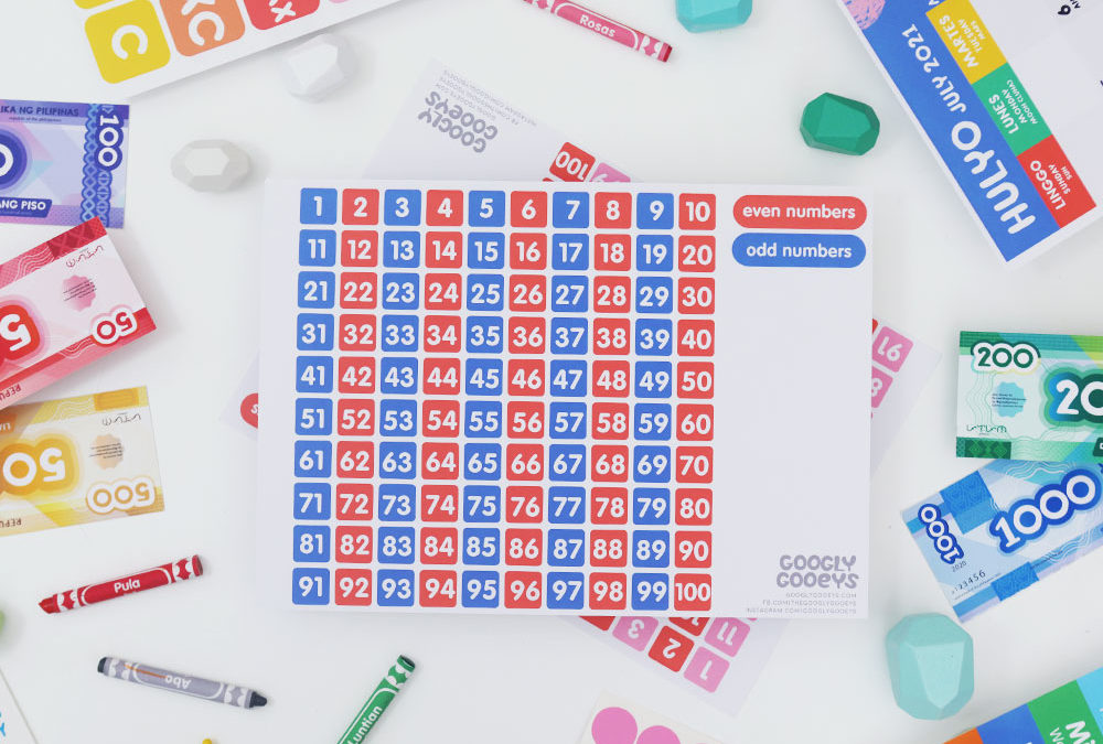Free Printable: Odd and Even Numbers
