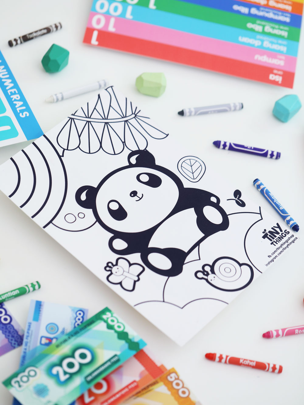 Googly Gooeys Printable Tiny Buds Chabee Coloring Maze Activity Worksheets