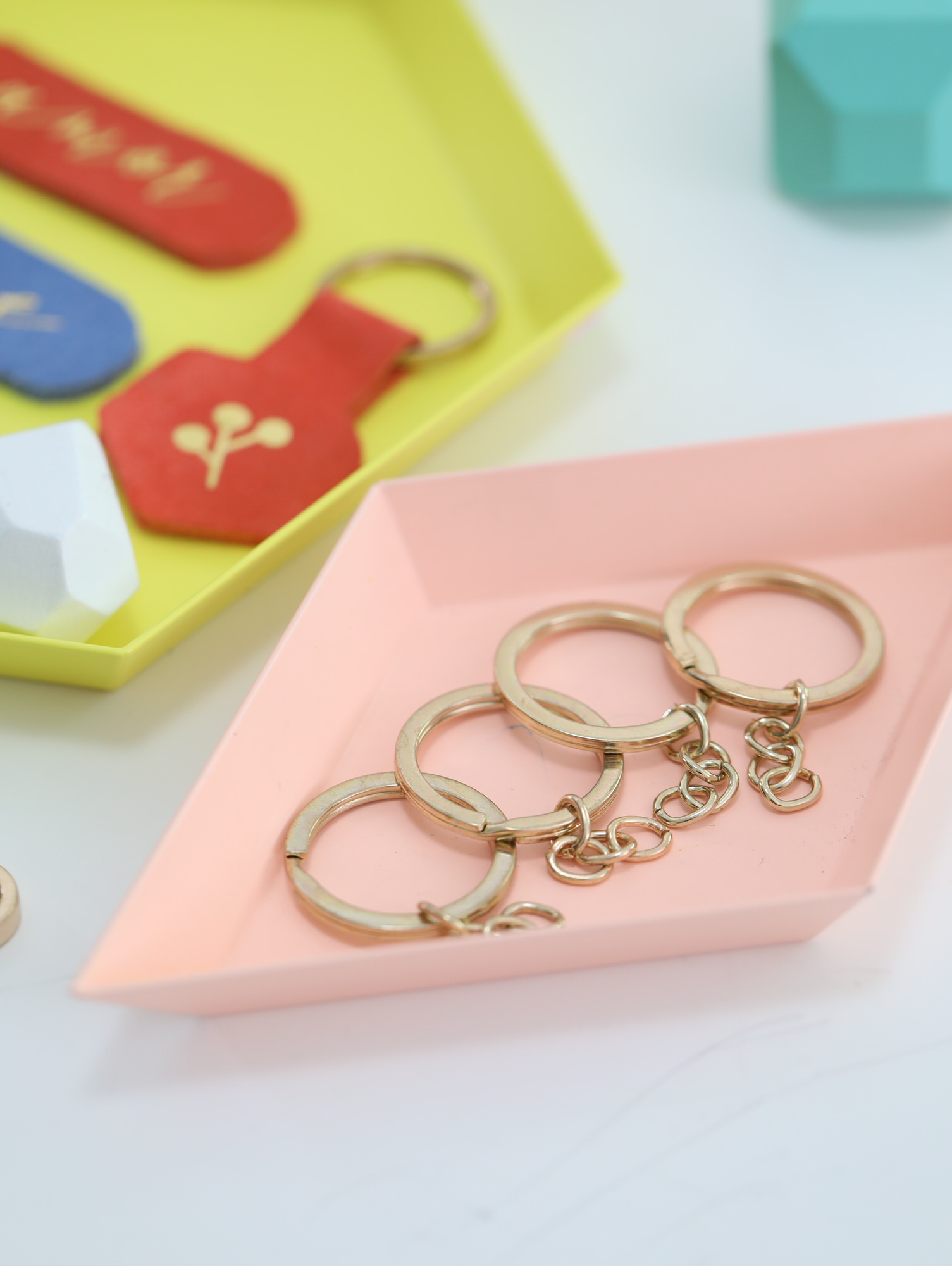Googly Gooeys DIY Suede Leather Keychain Bookmark Cricut Template